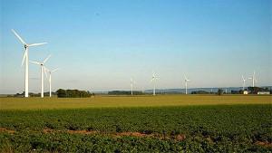 Vindkraftverk i Halland. Foto: Bengt A Lundberg